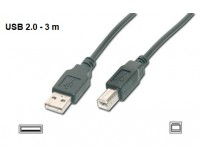 Laidas USB 2.0 A-B spausdintuvams (3 m)