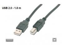 Laidas USB 2.0 A-B spausdintuvams (1,8 m)