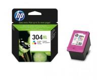 Kasetė HP 304XL C/M/Y (N9K07AE) OEM