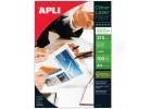 Foto popierius APLI COLOUR LASER GLOSSY, A4, 210 g/m2, 100 lapų