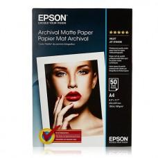 Foto popierius Epson Archival Matte A4 189 g/m2 Matinis