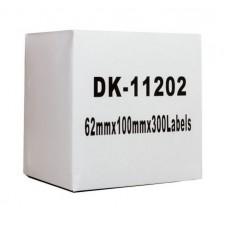 Brother Lipni juostelė DK-11202 (Baltos) 62x100 mm ECO