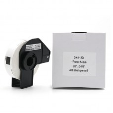 Brother Lipni juostelė DK-11204 (Baltos) 17x54 mm ECO
