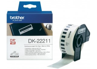 Brother Lipni juostelė DK-22211 29mm. (ilgai išliekanti)