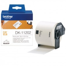Brother Lipni juostelė DK-11202 (Baltos) 62x100 mm