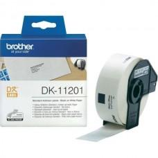 Brother Lipni juostelė DK-11201 (Baltos) 29x90 mm