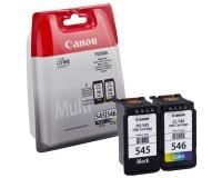 Kasetės Canon PG-545; CL-546 rinkinys OEM