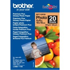 Foto popierius Brother BP71GP20 Blizgus A6