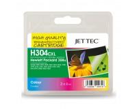 Kasetė HP 304XL C/M/Y (N9K07AE) Garantija 24 mėn.