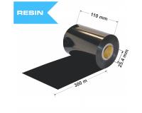 Dažanti juosta (Karboninė juosta) 104mm x 300m Resin