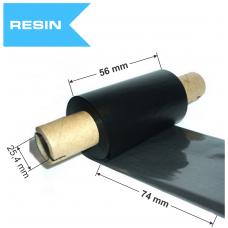Dažanti juosta (Karboninė juosta) 56mm x 74m Resin