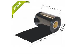 Dažanti juosta (Karboninė juosta) 110mm x 300m Wax