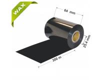 Dažanti juosta (Karboninė juosta) 64mm x 300m Wax