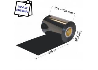 Dažanti juosta (Karboninė juosta) 104mm x 300m Wax / Resin
