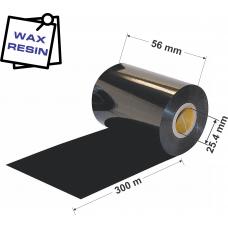 Dažanti juosta (Karboninė juosta) 56mm x 300m Wax / Resin