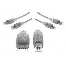 Laidas USB 2.0 A-B spausdintuvams (1,8 m) Premium