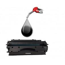 Kasetės pildymas HP CE505A