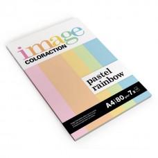 Spalvotas popierius Coloraction, Rinkinys, A4, 80 g/m² (pastelinės)