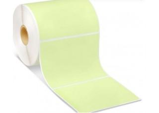 Lipnios etiketės 75x55mm. 1000 vnt (Vellum) Žalios
